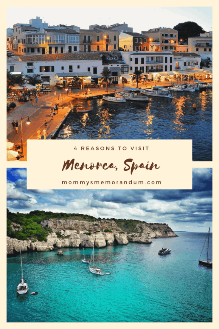 There's more to Menorca, Spain than just amazing food. Keep reading for 4 key reasons why you should visit Menorca, Spain.