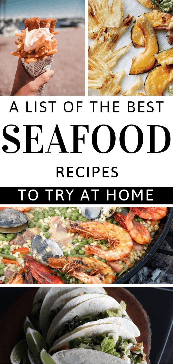 Whether you make one or all seven, any of these best seafood recipes will delight the entire family.