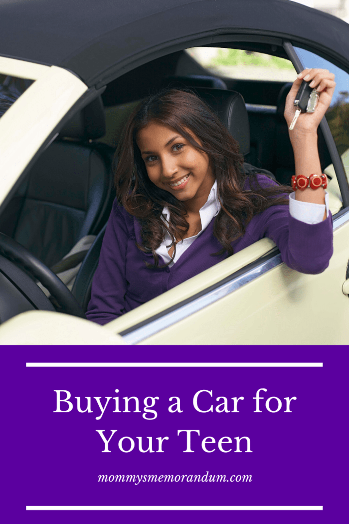 When you go with your teen to a dealership, help them throughout the process.