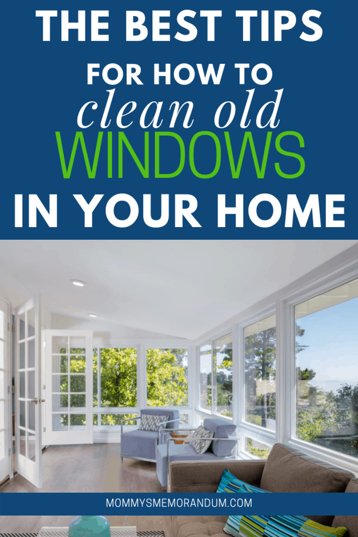 If you have old windows in your home, there are ways you should clean them. Click here to learn how to clean old windows.