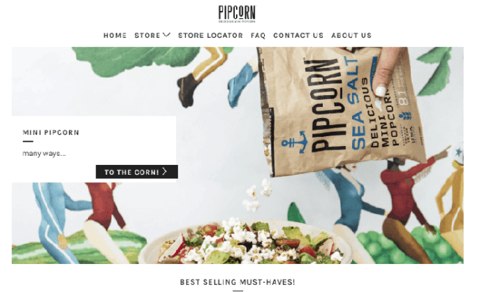 Pipcorn sells flavorful Mini Popcorn