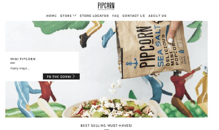 Pipcorn sells flavorful Mini Popcorn