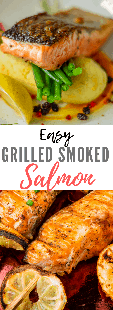 This is an easy, relatively quick recipe to produce a beautifully flavored smoked salmon at home on the grill. It's also a more affordable option versus buying smoked salmon at the store, especially when you can find a good sale on salmon at your local grocery store.
