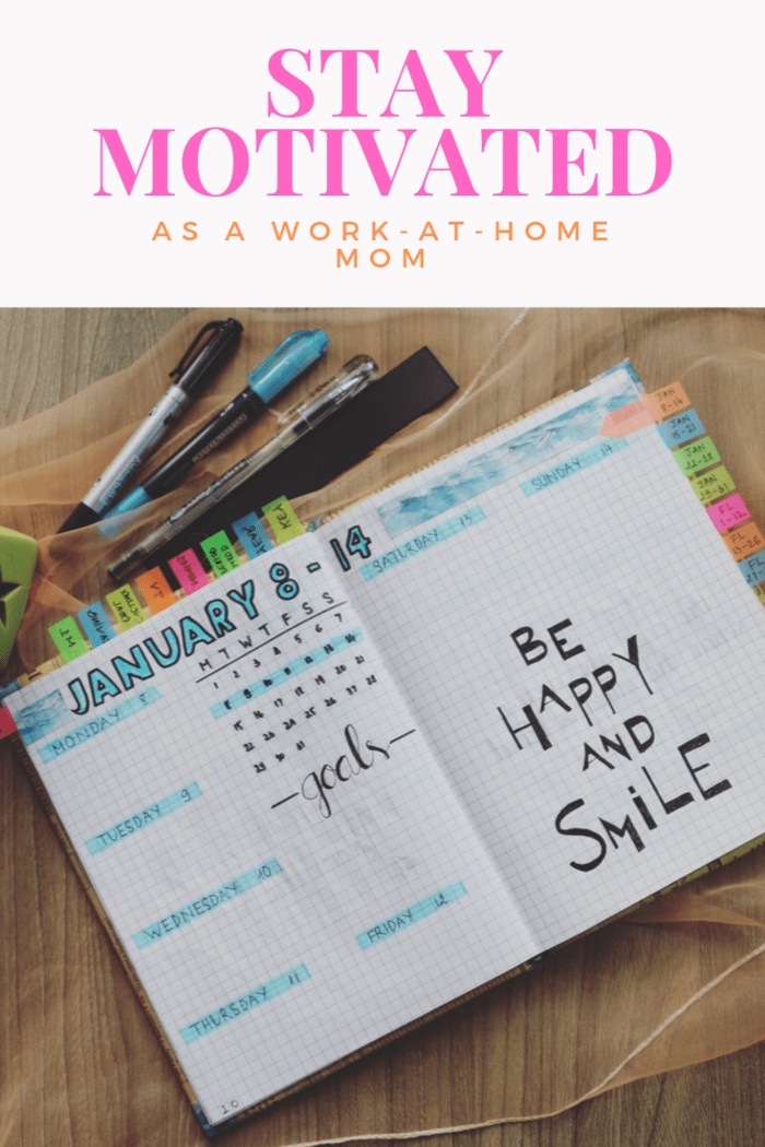 Here are 6 ways to help you balance your career and personal life and stay motivated as a work-at-home-mom when you just don't feel like you can do it all.
