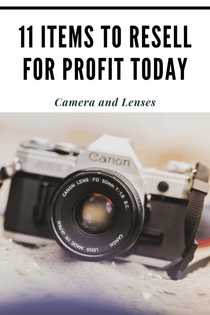 If you can find vintage camera equipment that still works, you're in luck.