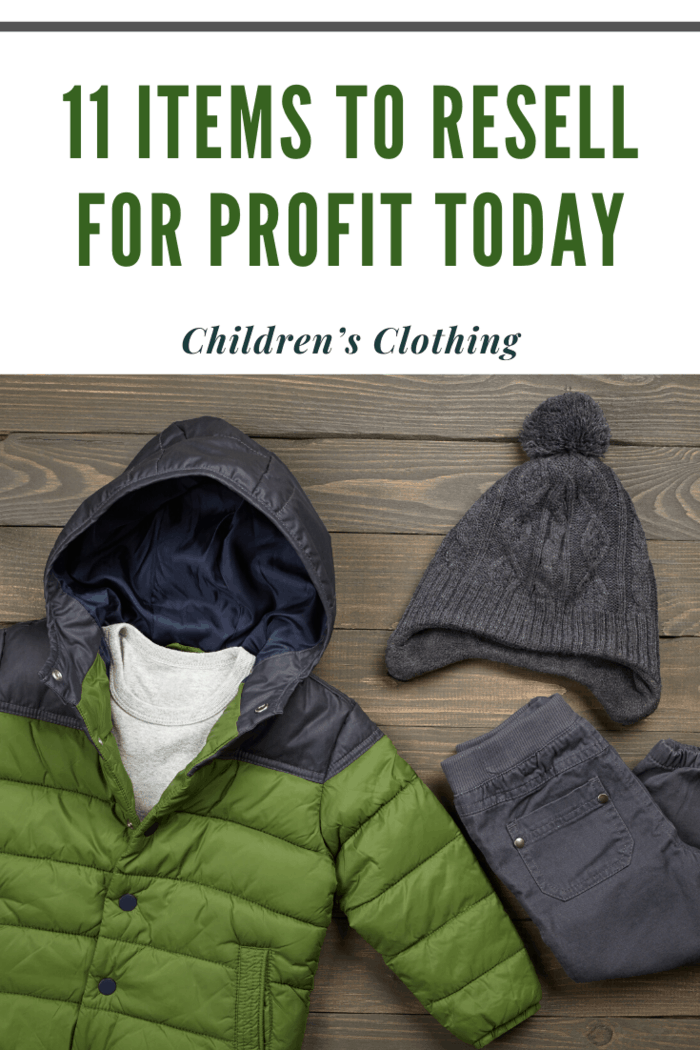 selling children's clothing in lots is much more successful.