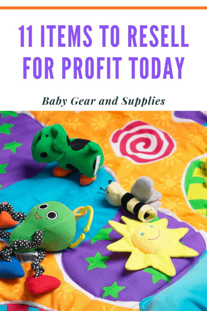 Besides strollers, jumpers, bottle sets, toy sets, and Baby Einstein sets can all resell well.
