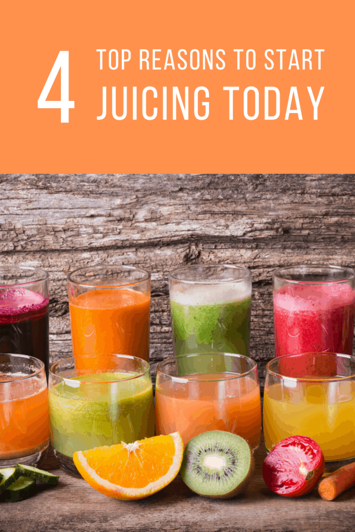 Consistent juicing of healthy and fiber-rich foods can help you shave off those extra pounds and maintain the ideal weight.