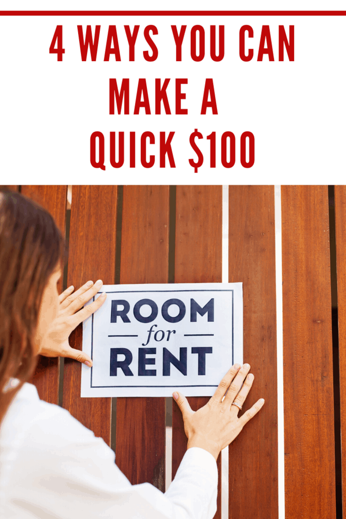 Rent a room. Multiple websites offer platforms letting you rent out space in your home. Air BnB may be the best known, but there are scores of others. If there are no local prohibitions, you can become a landlord.