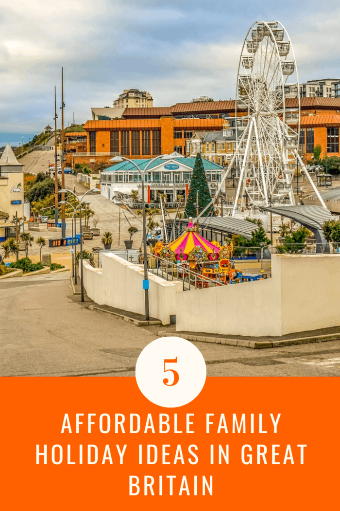 Bournemouth offers affordable family holiday ideas in great britain