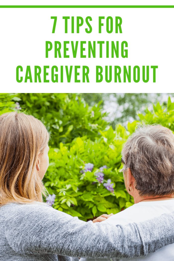 You want to avoid the caregiver's guilt thinking about your own needs compared to the needs of your loved one.