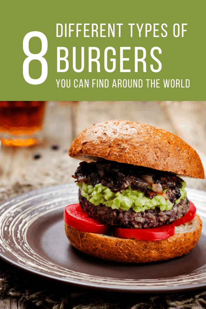 Heading over to Mexico, you can find the Mexican Avocado Burger.