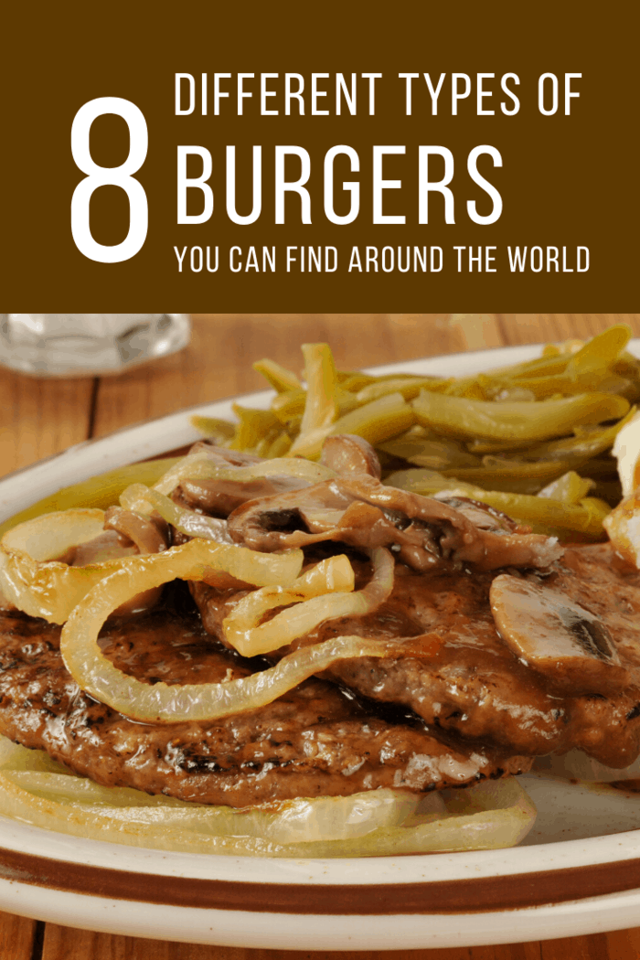 Our next stop is in Germany. Here, you'll discover the Hamburg Steak Burger.