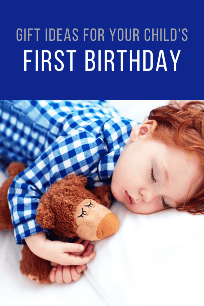 Plush and beanie toys are always a good idea to gift a 1-year old child.