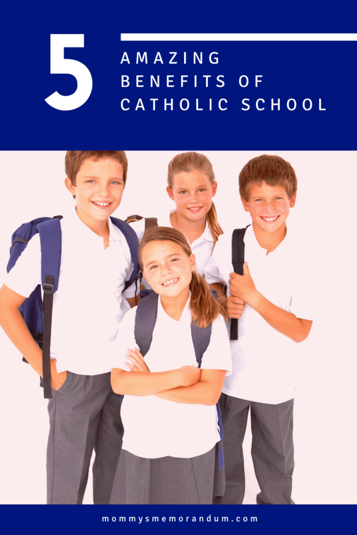 Uniforms are synonymous with Catholic schools