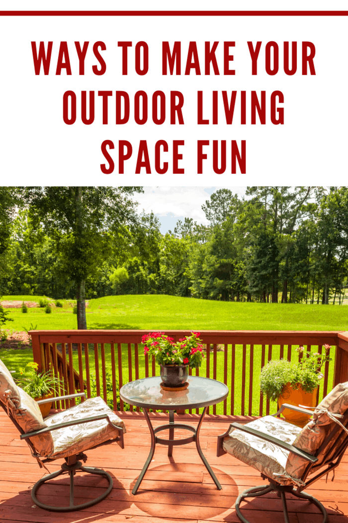Here are some ways you can improve your outdoor living space and make it a place for everyone - parents and kids alike - to enjoy.