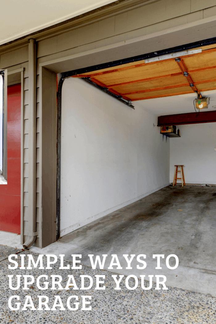 door open on garage