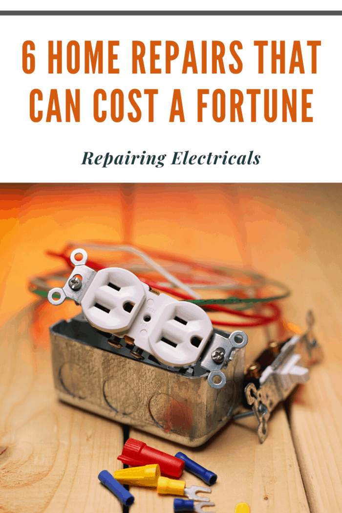 Electricity is dangerous, so if you're not an electrician, definitely hire one. Repairing electrical damage could cost you from around $100 up to the low thousands.