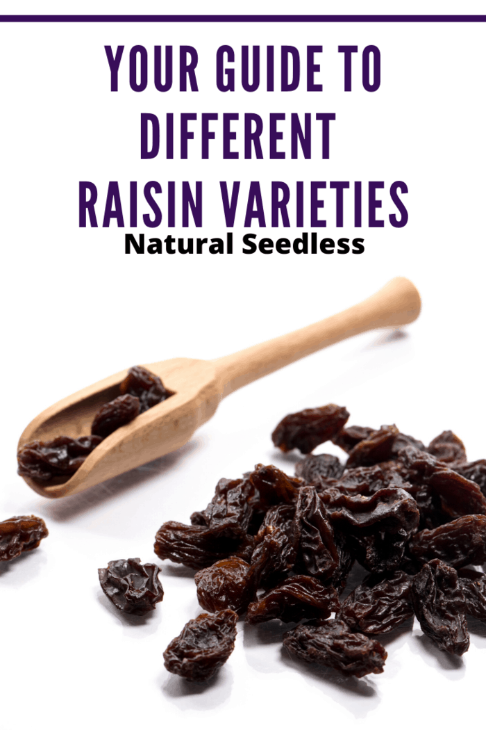 Natural Seedless raisins are some of the most popular raisins on the market today. In fact, they account for nearly all of the raisins produced in California.