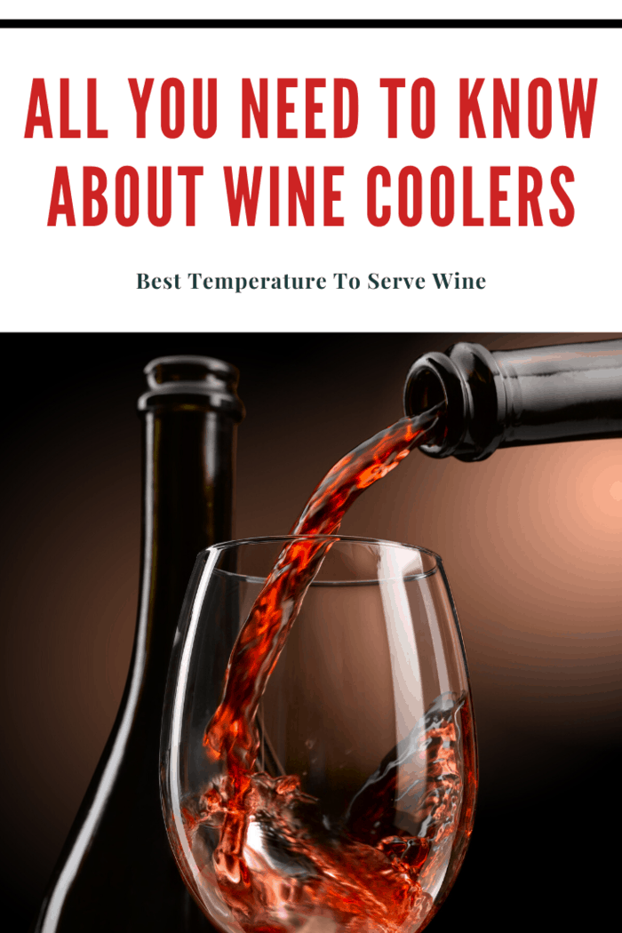 The ideal temperature for serving sweet wines can be as low as 43 degrees Fahrenheit, while the ideal temperature range for a cellar is 50 to 55 degrees. The best temperature to serve the wine varies depending on the variety. Due to these differences, some people keep a small refrigerator in the cellar to have a few bottles ready to serve at all times.