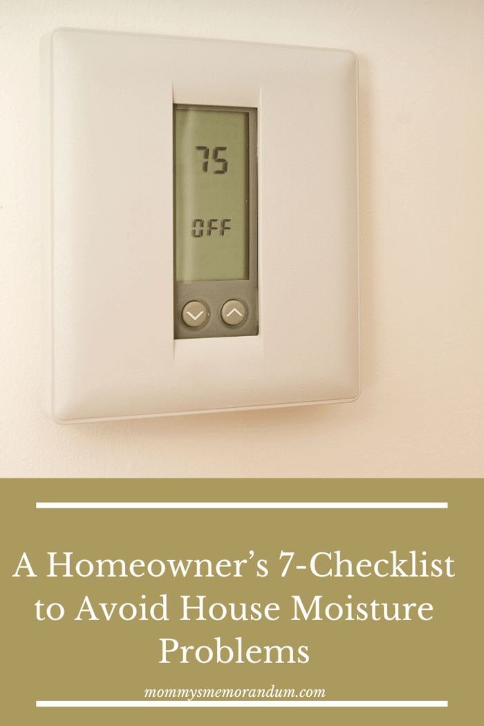 Set the thermostat at 75°F or above whenever it is the summer season for a lower setting can cause condensation inside wall cavities.