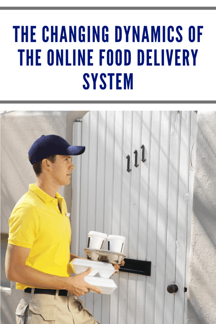 The online food delivery system has grown into a billion-dollar industry in recent years.