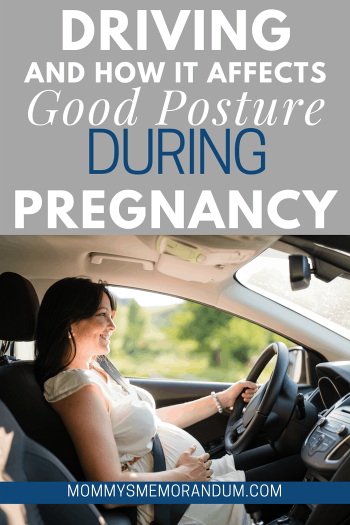 While driving, your posture matters a lot.