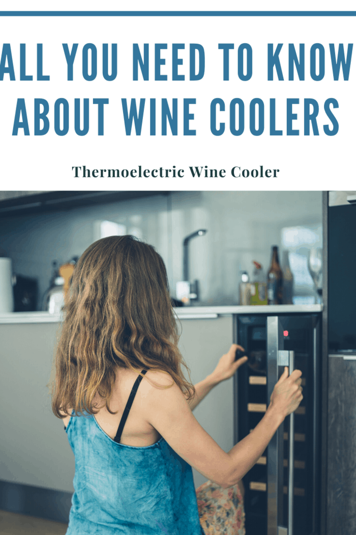 The thermoelectric wine cooler is an example of an excellent wine cooler for use in any family environment.