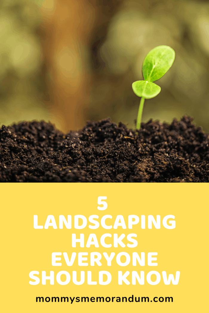 It will also help you know how much mulch, soil, and plants you will need to fill the spots in your yard you want to be covered.