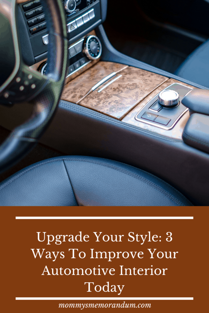 At the end of a long workday, that kind of thing makes a huge difference in the tone of your evening, so do yourself a favor and make the fast, cost-effective choices that will help you feel better when you're in your car.