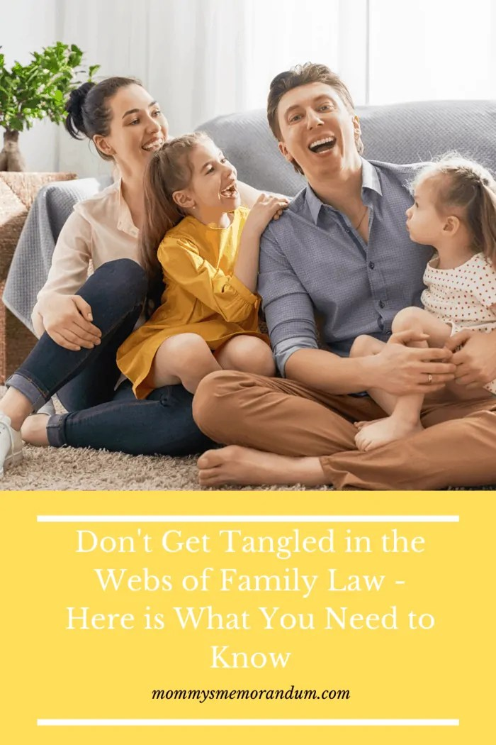 However, if you want to assert your rights and know your obligations, understanding the basics of family law can be helpful, throughout this process.