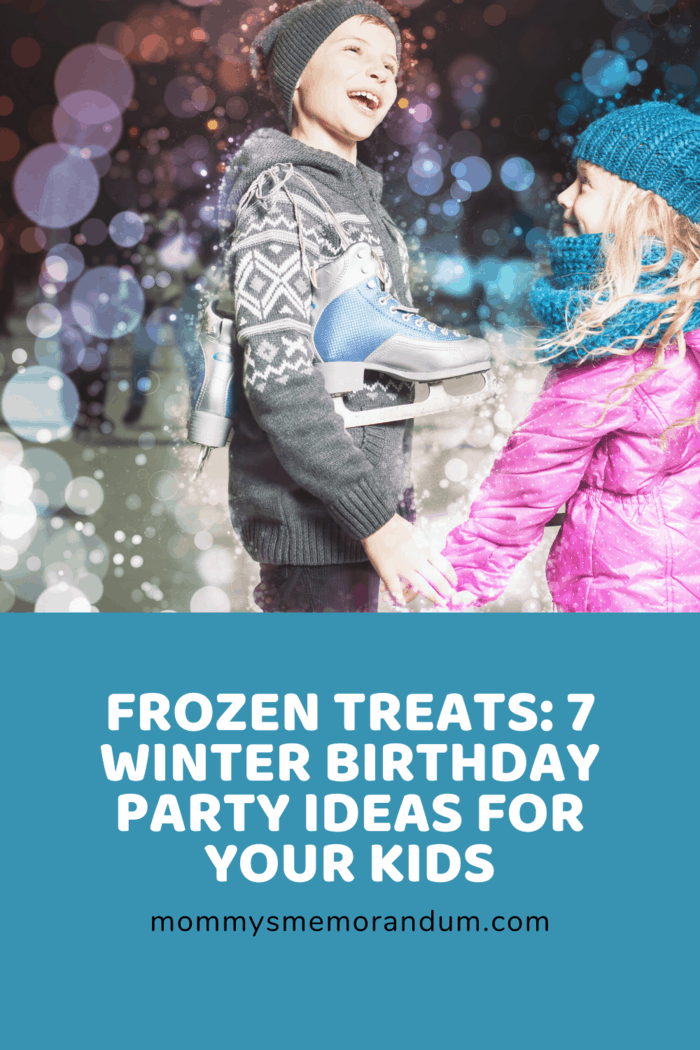 Depending on where you live, you may even be able to rent outdoor ice rinks for the party.