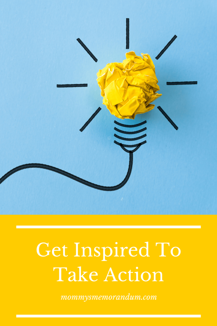 Sometimes inspiration doesn't just jump out at you. In such cases, you have to develop a method that helps you get inspired.