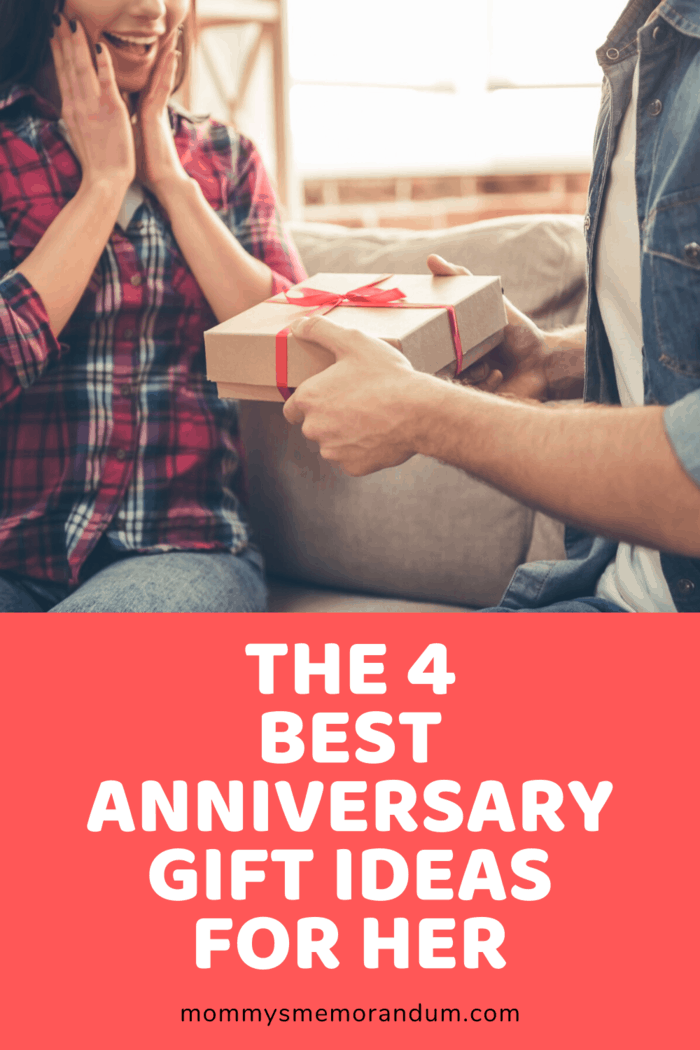 Anniversary Gift Ideas for her: Gift her something she'll love as much as you!