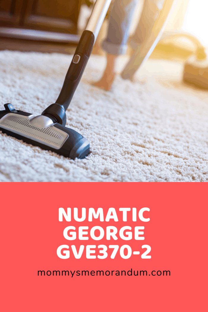 For something that will meet all your carpet cleaning needs, the Numatic George GVE370-2 provides it all.
