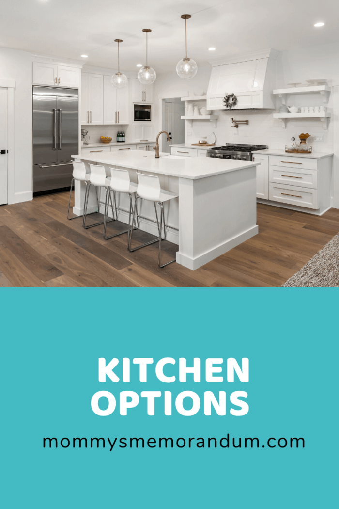 These counters will allow you to prepare your food in different height options, either while sitting or standing.