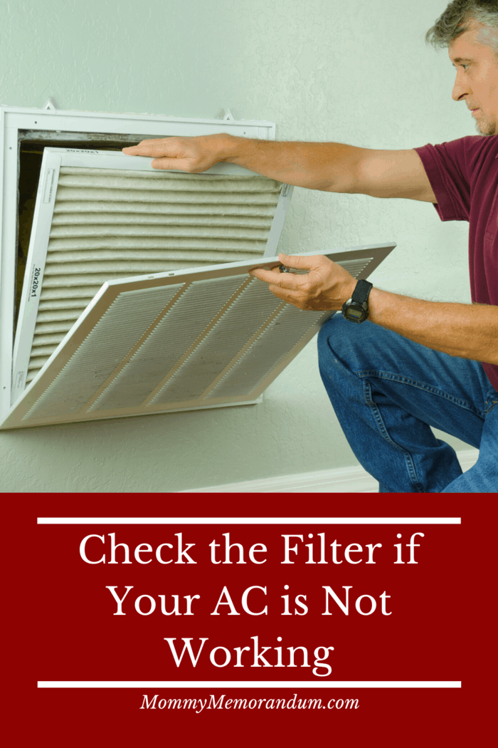 Filters don't just affect the quality of air that flows through your system, it also supplies any air at all.
