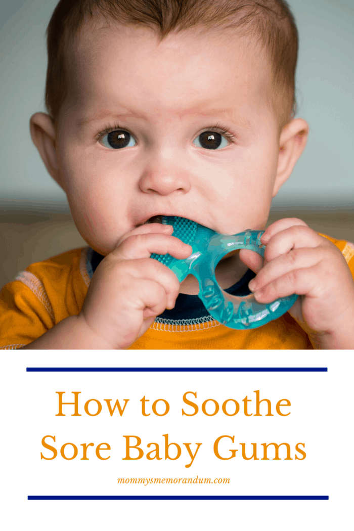 With baby teeth growth comes the pain and sore gums.