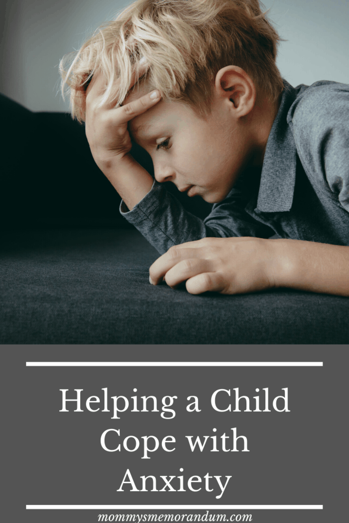 nearly 4.4 million children in the US deal with some kind of anxiety disorder. Here are tips for helping a child cope with anxiety.