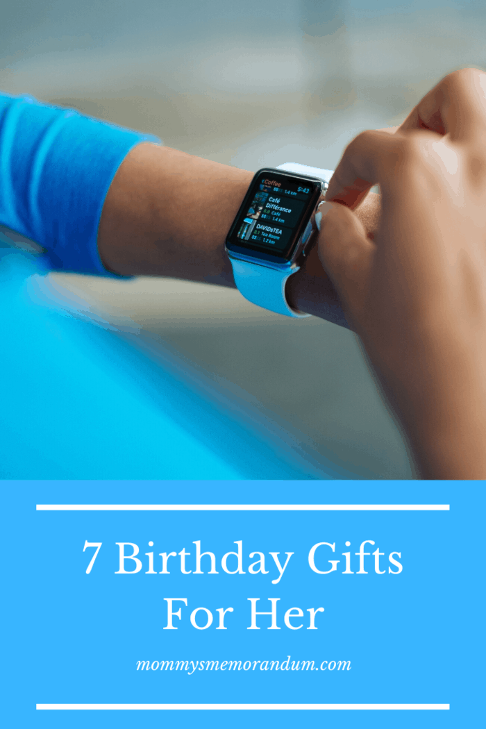 Many women like tech and smartwatches and it can be the perfect gift for those kinds of women.