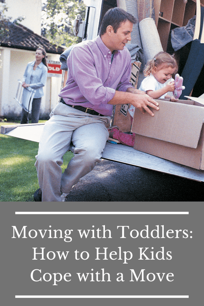 This scenario is how a child may feel during a move.