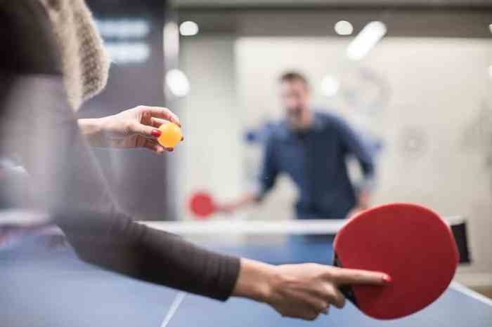Unlike other sports out there, table tennis is not demanding when it comes to equipment.