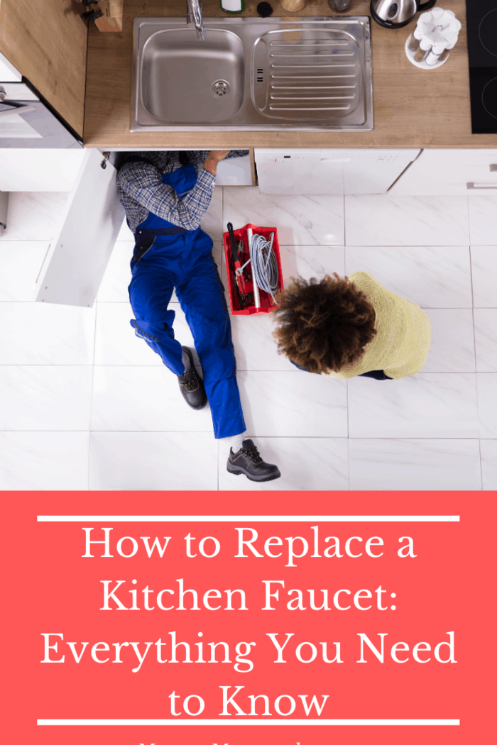 If you are installing a hot-and-cold faucet, make sure you have the right lines in place to avoid any mix-ups.