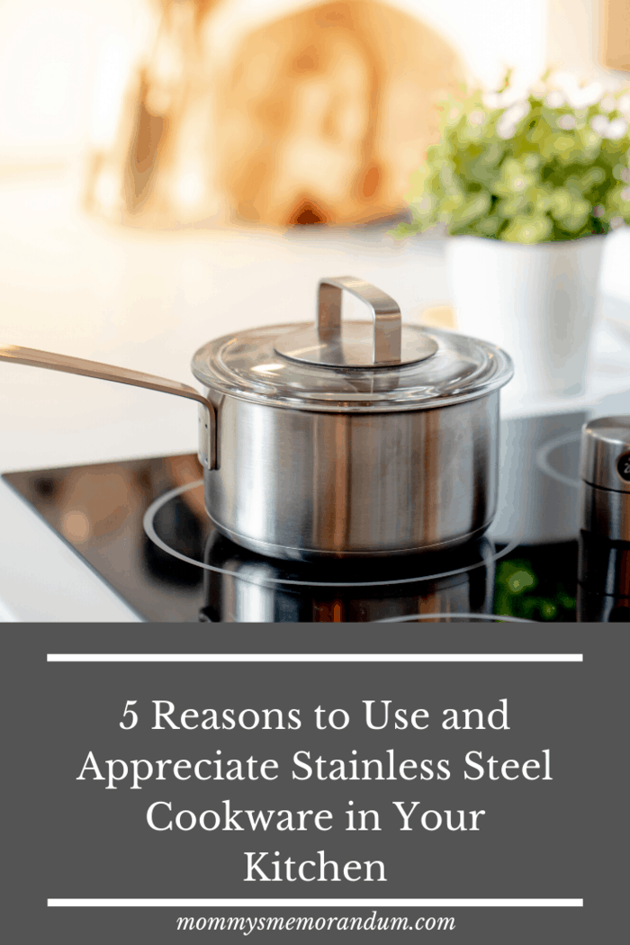 Being an alloy of carbon, iron, chromium among most impact-resistant material, the other benefit of stainless steel cookware becomes its ability to sustain high levels of temperatures.