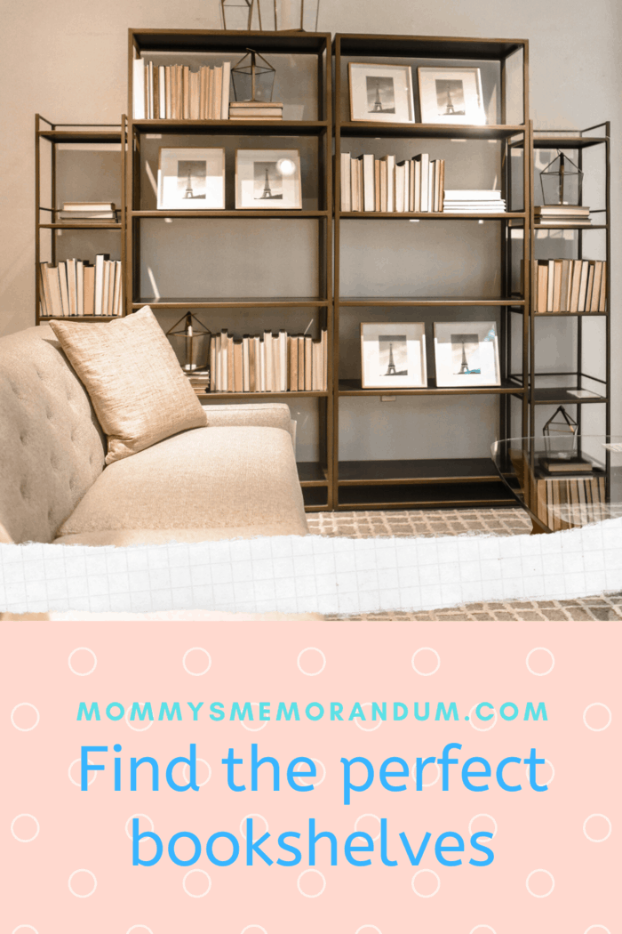 Modern invisible shelves can be a great decoration, but they won't help you store a large number of books.