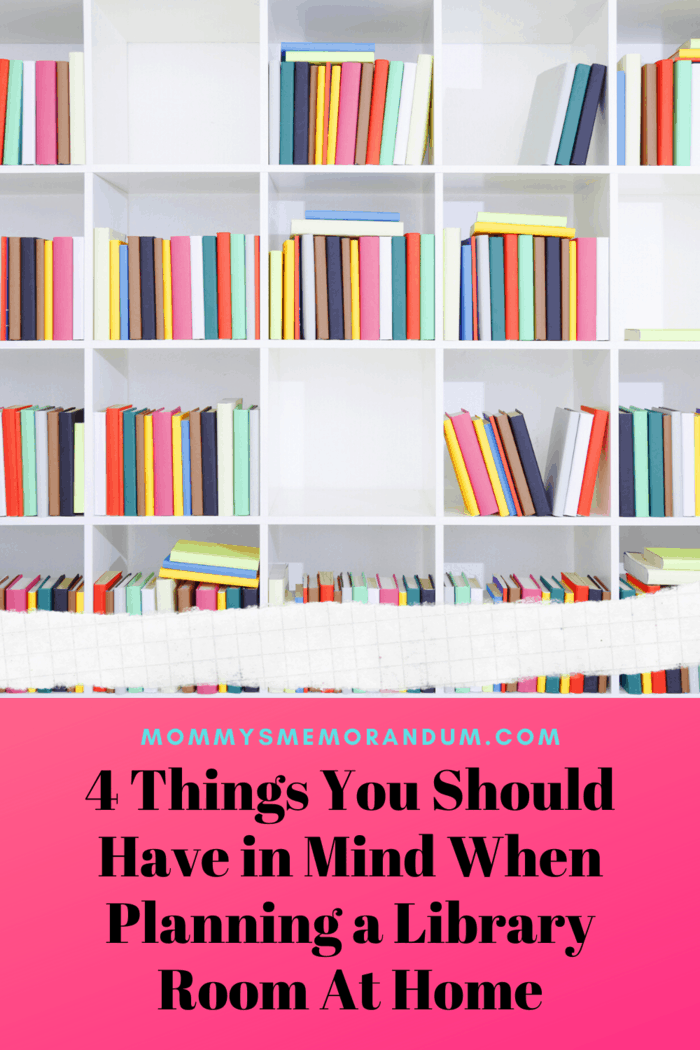 Again, the number of books you want to display will influence the layout. If your book collection is really big, a simple bookcase may not be enough.
