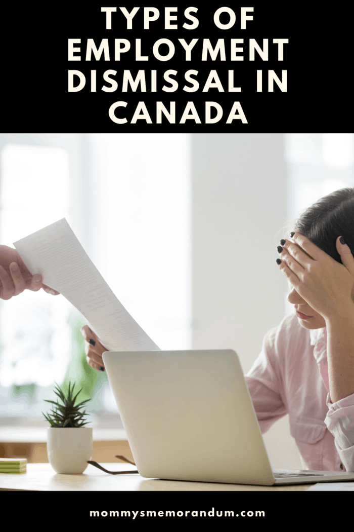 An employer can let you go for a number of reasons, we discuss the types of employment dismissal in Canada such as with cause, without cause and illegal termination.