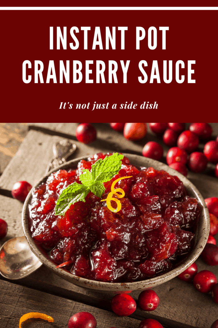 This Instant Pot Cranberry Sauce recipe is beautiful to serve and the taste is one you'll guests will want again and again.