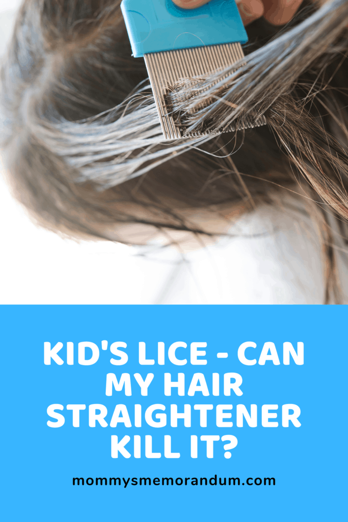 Can My Hair Straightener be used to Kill My Kid's Lice? Find out more about how to kill kid's lice here.