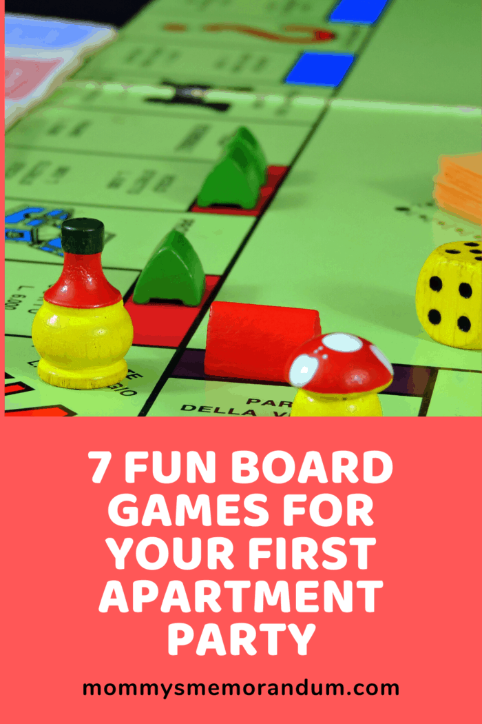 You bring out the board games, of course!